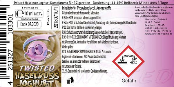 Twisted Aroma - Haselnuss Joghurt 10ml
