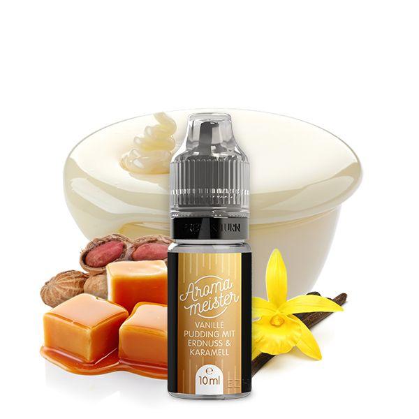 Aromameister Aroma - Vanillepudding mit Erdnuss & Karamell 10ml