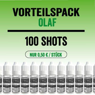 "Liquideo Nikotinshot / Nikotinbooster - Vorteilspack ""Olaf"""