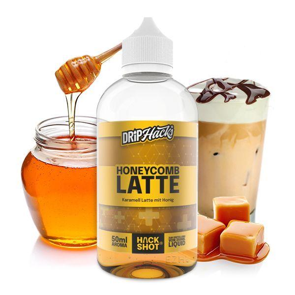 Drip Hacks Aroma - Honeycomb Latte 50ml