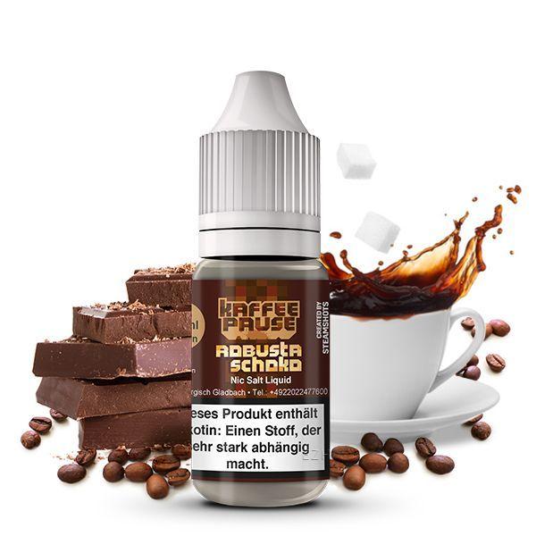 Kaffeepause Nikotinsalz Liquid - Robusta Schoko
