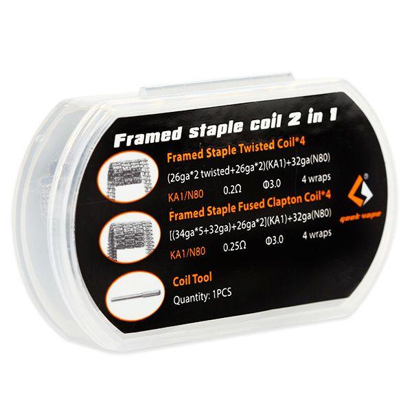 GeekVape Framed Staple Coil 2 in 1
