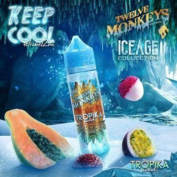 Twelve Monkeys - Tropika Iced - 50ml Overdosed