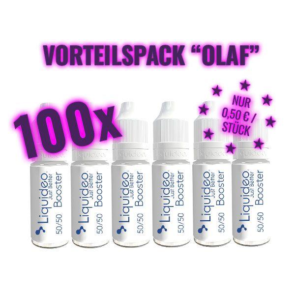 """Liquideo Nikotin Booster - Vorteilspack """"Olaf"""""""