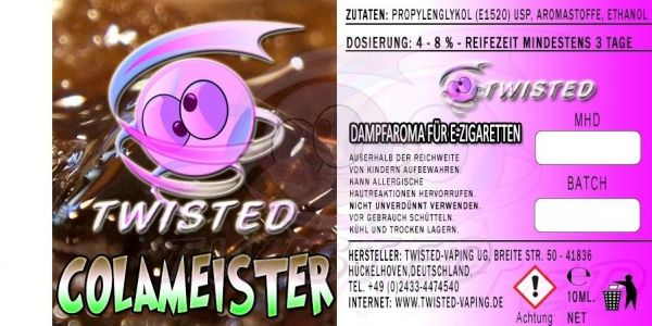 Twisted Aroma - Colameister 10ml