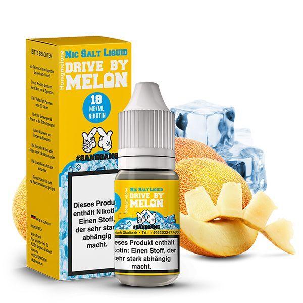 #GANGGANG Nikotinsalz Liquid - Drive By Melon Ice