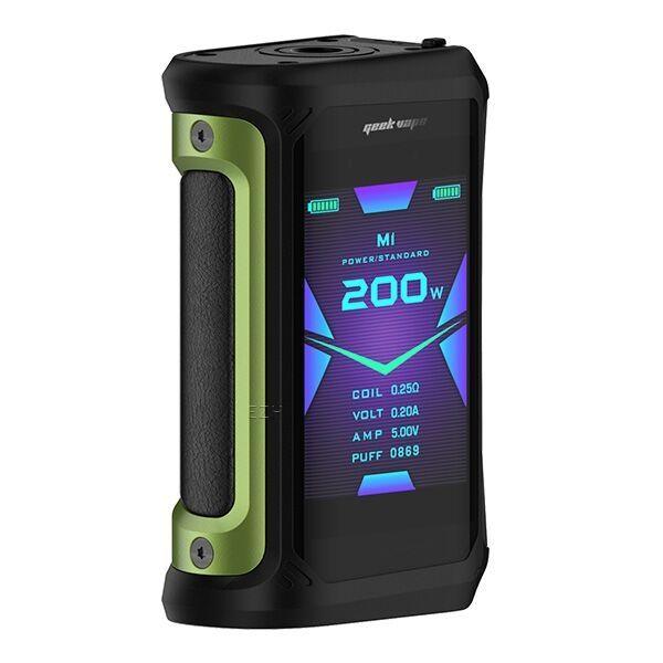 GeekVape Aegis X 200W TC Box MOD - Green & Black