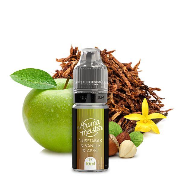 Aromameister Aroma - Nusstabak & Vanille & Apfel 10ml