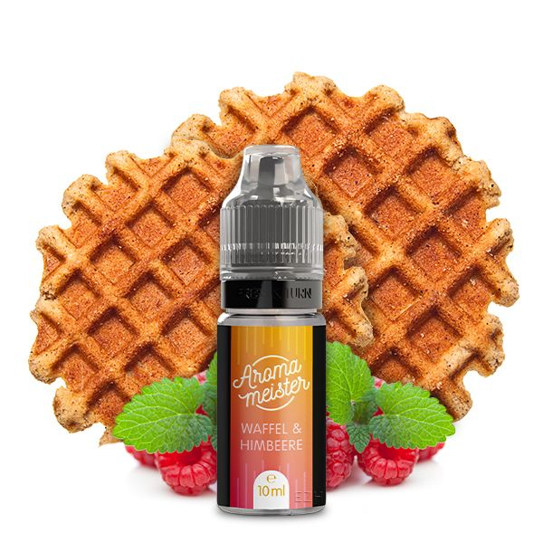 Aromameister Aroma - Waffel & Himbeere 10ml