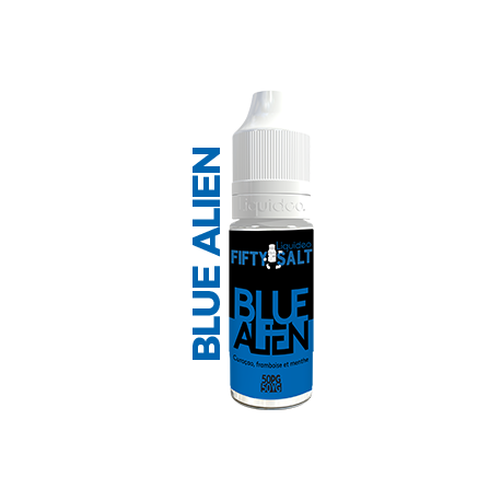 Liquideo Nikotinsalzliquid - Fifty Blue Alien