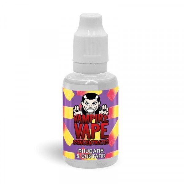 Vampire Vape Aroma - Rhubarb and Custard 30ml