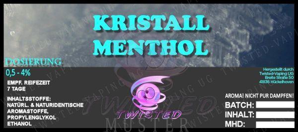 Twisted Aroma - Kristall Menthol 10ml