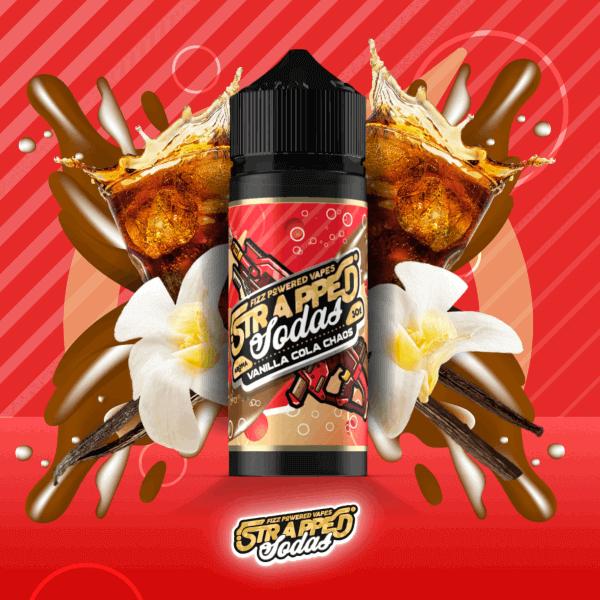 Strapped Soda Aroma - Vanilla Cola Chaos 30ml