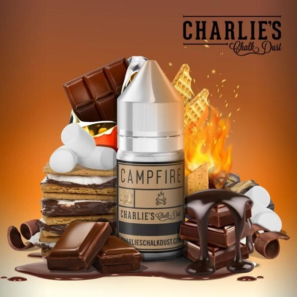 Charlie's Chalk Dust Aroma - Campfire 30ml