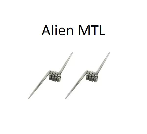 GM Coils handgefertigte Premiumwicklungen - Alien MTL