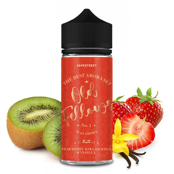 Old Fellows Aroma  - No. 1 Strawberry Kiwi Cocktail & Vanilla 20ml