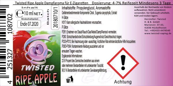 Twisted Aroma - Ripe Apple 10ml