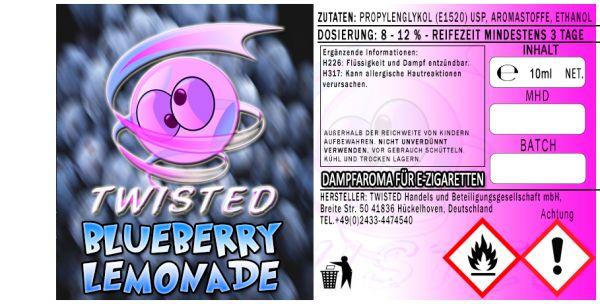 Twisted Aroma - Blueberry Lemonade 10ml