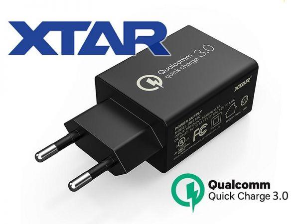 XTAR USB-Netzteil QC 3.0