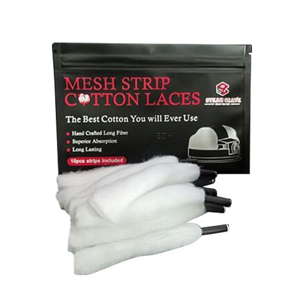 Steam Crave Mesh Strip Cotton Laces