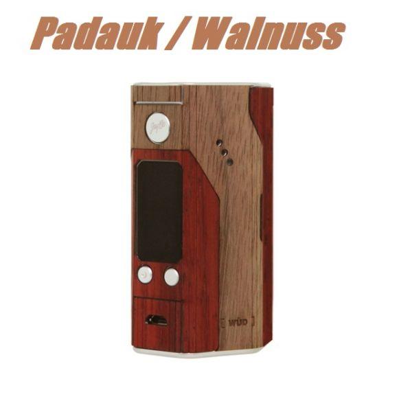 WÜD - Reuleaux RX200S Wood Skin - Padauk / Walnuss