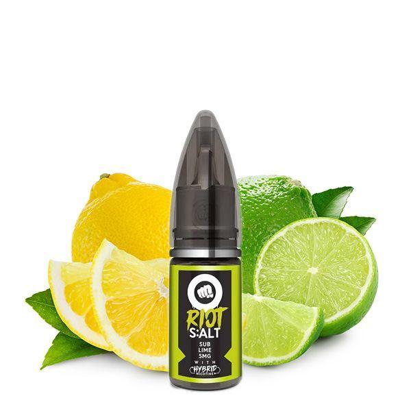 Riot Squad Nikotinsalz Liquid - Sub Lime