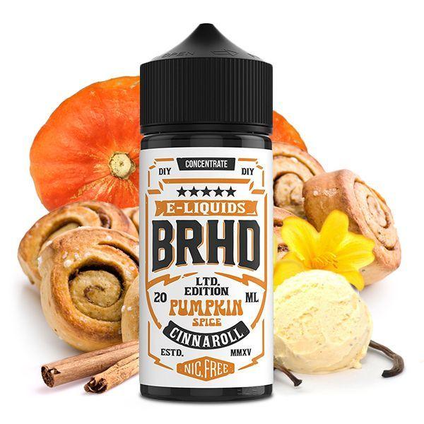 Barehead Aroma - Pumpkin Spice Cinnaroll 20ml