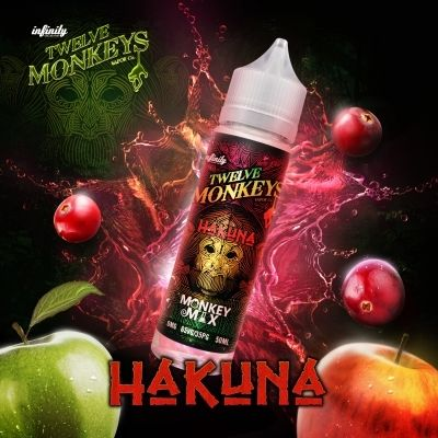 Twelve Monkeys - Hakuna - 50ml Overdosed