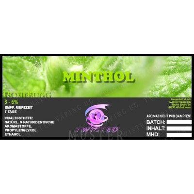 Twisted Aroma - Minthol 10ml