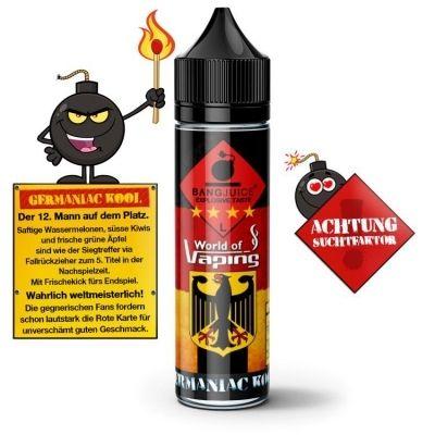Bang Juice Aroma - Germaniac Kool 10ml