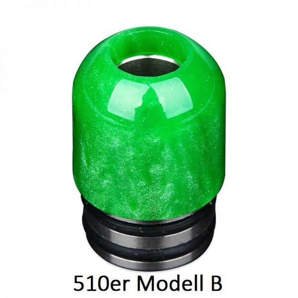 Demon Killer Resin Drip Tip - 510er - Modell B