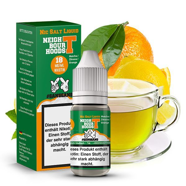 #GANGGANG Nikotinsalz Liquid - Neigbour Hoods T