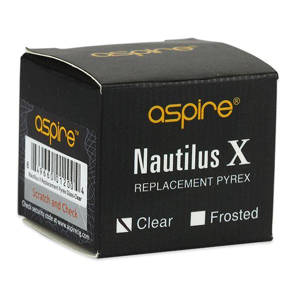 Aspire Nautilus X Ersatzglas - klar