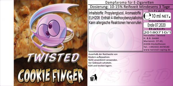 Twisted Aroma - Cookie Finger 10ml