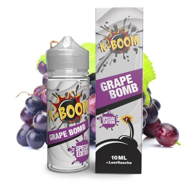K-Boom Aroma - Special Edition - Grape Bomb 10ml