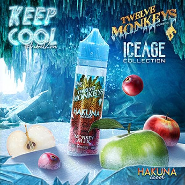 Twelve Monkeys - Hakuna Iced - 50ml Overdosed