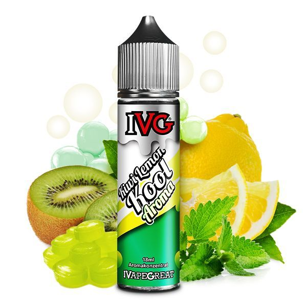 IVG Aroma - Kiwi Lemon Kool 18ml